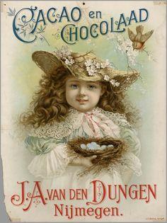 Voor J.A. van den Dubgen Cacao&Chocolade 1900