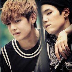 V and Suga - BTS