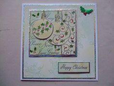 Imagination Craft Decoupage Stamp set painted using H2Os