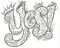lettering doodle by Pamela Keravuori;  I just liked the lightness of this piece. Doodle Art Letters, Doodle Art Journals, Doodle Lettering, Creative Lettering, Letter Art, Typography, Tangle Doodle, Doodles Zentangles, Zen Doodle
