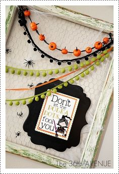 Free Halloween Printable and Decor Idea by the36thavenue.com
