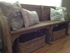 long dining bench with back   Dining Room Update {New Bench}