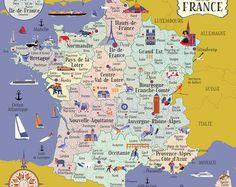 Carte de France, Nouvelles régions