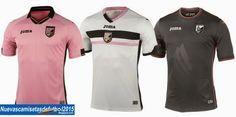 Nuevas camisetas de futbol 2014 2015 2016: Camiseta Serie A 2014 2015:Camiseta PALERMO Joma 2014 2015