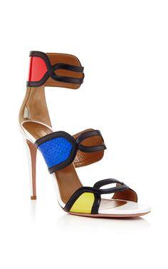 It's Gorgeous Heel Sandals by Aquazzura Now Available on Moda Operandi