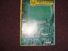 Kings Lynn v Stowmarket Town F.A.VASE PREM RD   6/10/1990