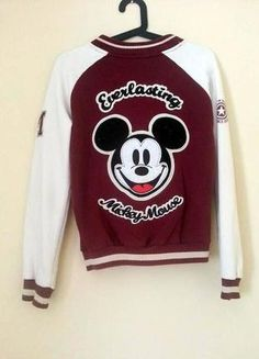 Kup mój przedmiot na #vintedpl http://www.vinted.pl/damska-odziez/bluzy/14506232-oldschoolowa-bluza-z-myszka-miki
