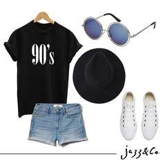 Vibes 90's e com óculos Jazz para complementar com estilo!  #soujazz #sunglasses #eyewear #jazzeco #shades #style #goiania