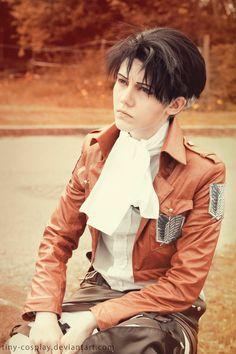 SNK: Levi cosplay by TinYasuo-Cosplay on DeviantArt