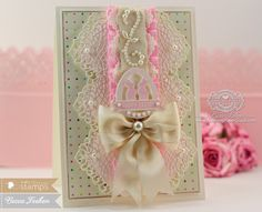 Easter Card Making Ideas by Becca Feeken Using Waltzingmouse Stamps - The Good Egg, Spellbinders Divine Eloquence and Tranquil Moments