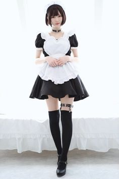 Like Beauty Life fo Keep Cover Maid Outfit Cosplay, Cosplay Girls, Kawaii Cosplay, Cute Cosplay, Cute Asian Girls, Cute Girls, School Girl Outfit, Girl Outfits, Beautiful Japanese Girl