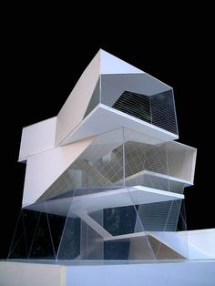 Beautiful, futuristic, polygonal #architecture.