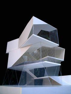 Beautiful, futuristic, polygonal #architecture.