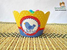 Wrapper - Saia para Cupcake Branca de Neve Papelaria Personalizada: https://www.facebook.com/serendipity.festas