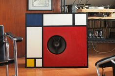 Mondrian inspired open baffle by je245, v