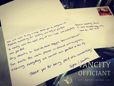 cool vancouver wedding Received another thank you card from a couple, that I worked with Amara Wedding together back in last Oct. #weddingceremony #marriage #wedding #vancouverceremony @amarawedding by @vancityofficiant  #vancouverwedding #vancouverwedding