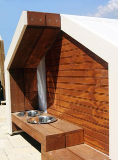 Stylish, easy to clean dog houses