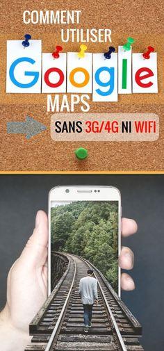 Il existe une astuce très pratique pour utiliser Google Maps hors connexion sans 3G/4G ni wifi. Même en mode avion, Google maps... Application Telephone, Mac Ipad, Tips & Tricks, Travel Organization, Travelling Tips, Travel Essentials, Travel Hacks, How To Take Photos, Good To Know