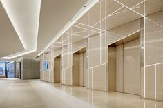 gwenael nicolas infuses japanese elements inside the ginza six mall in tokyo