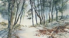 How to paint watercolour landscapes from photographs with Steven Cronin