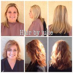 Hair by Julie Manos-Robinson #hairbyjuliemanosrobinson