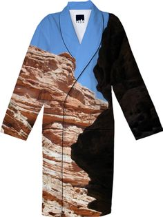 Canyon Shadow Robe from Print All Over Me