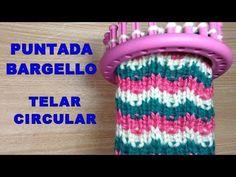 Round Loom Knitting, Loom Knitting Stitches, Loom Knitting Projects, Double Knitting, Loom Patterns, Stitch Patterns, Crochet Patterns, Loom Flowers, Loom Hats