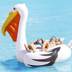 Giant Pelican Pool Float