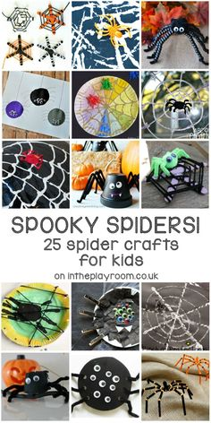 25 Spider Crafts for
