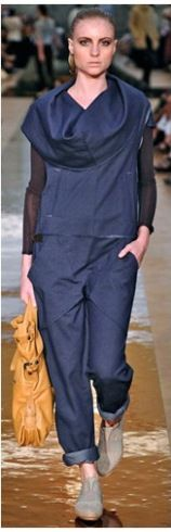 Macacão malha jeans MARA MAC