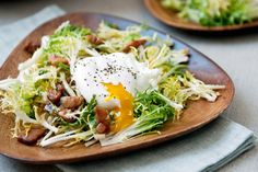 Mark Bittman prepares an essential French salad with fresh greens, bacon and…