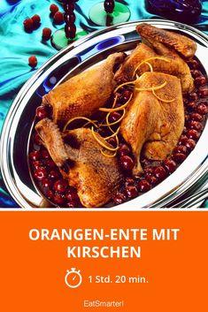 Orangen-Ente mit Kirschen - smarter - Zeit: 1 Std. 20 Min. | eatsmarter.de