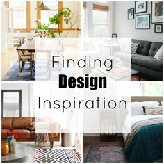 Tips for finding design inspiration!