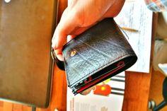 Recycle Creative -Recycled Inner Tube - Handmade Trucka Wallet