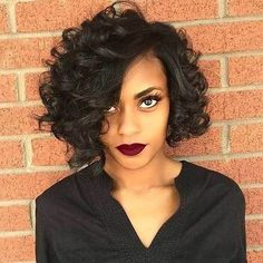15 Inspiring Short Haircuts for Round Faces: #14. Naturally Curly Hair