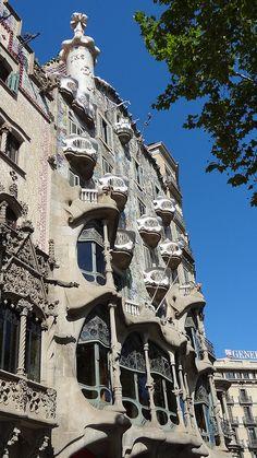 Casa Batlló, Barcelona | Flickr - Photo Sharing!
