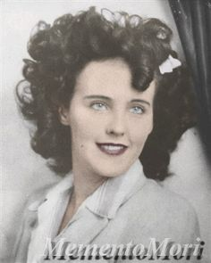 Has Grisly 1947 Black Dahlia Murder Been Solved? - Across America, US - In actress Elizabeth Short — called the Black Dahlia — was brutally murdered. A British author claims she has solved the grisly crime. Dahlia Noir, Blue Dahlia, My Love Photo, The Black Dahlia Murder, Famous Murders, James Ellroy, Shocking News, Cold Case, Gangsters