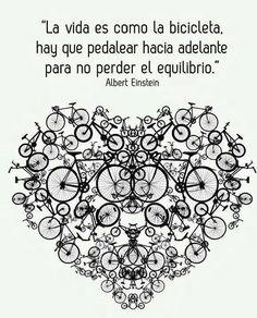 Corazón de bicicleta