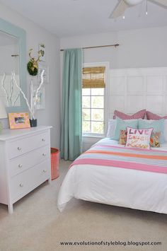 ORC Reveal Day - My Favorite Girl's Bedroom - Evolution of Style