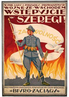 1920 Bitwa Warszawska plakat Wojna ze wschodem (5115667345) - Allegro.pl - Więcej niż aukcje.