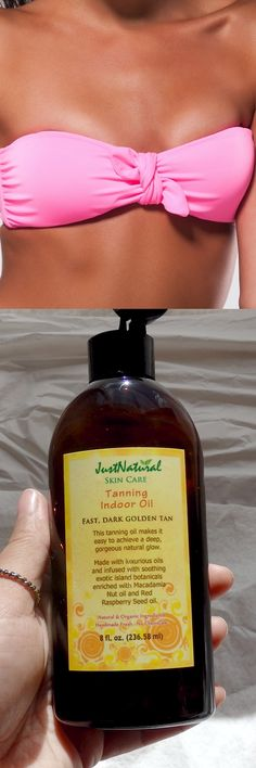 This tanning oil for indoor use is by far my new favorite. I have been tanning for around a month to get ready for a vacation in less than two weeks to Bahamas and want to have a good tan before I leave. This will help you to get that darker look you need. This has helped me achieve the best color I've had in years!!