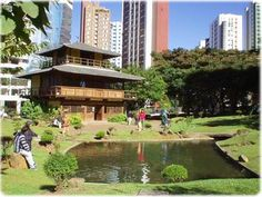 Hyogo Palace. Opened in 1996, the Hyogo Palace is a fine example of Japanese architecture in Curitiba / Brazil, a project by architect Cristina Sato. It now houses the Chamber of Commerce and the Cultural and Scientific Japan-Brazil.