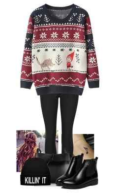 """""""Untitled #317"""" by londoner6401 ❤ liked on Polyvore featuring Indigo Collection, Kara and WithChic"""