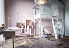 modern kids room decor