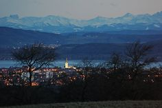 Radolfzell Münster Beautiful Places, Places To Visit, Germany, Wanderlust, November 2015, Celestial, Mountains, Sunset, Nature