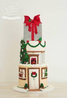 Christmas Inspiration Board on Pinterest Christmas Cakes ...