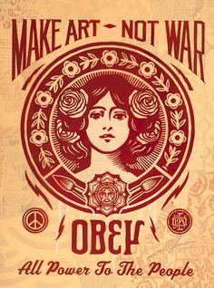 Obey Giant - The Art of Shepard Fairey Poster Wall Art, Propaganda Art, Graphic Poster, Hippie Art, Poster Art, Mural Wall Art, Graffiti Lettering, Pop Art, Obey Art