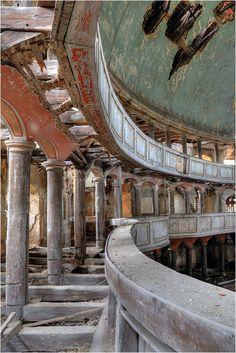 beautiful church in Zeliszow (Poland) abandoned after II WW.
