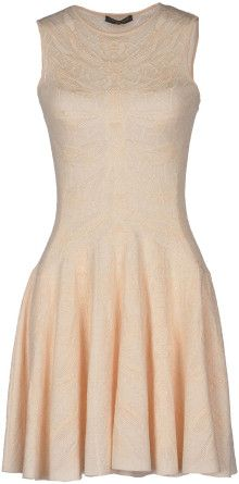 Alexander McQueen Short Dress - Lyst