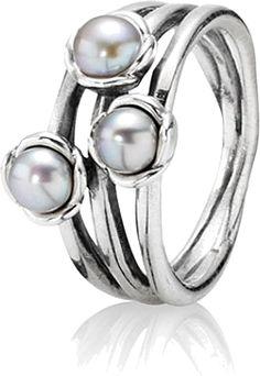 8acaf3013 Pandora, from my husband for Christmas. Pandora Uk, Pandora Rings, Cultured  Pearls